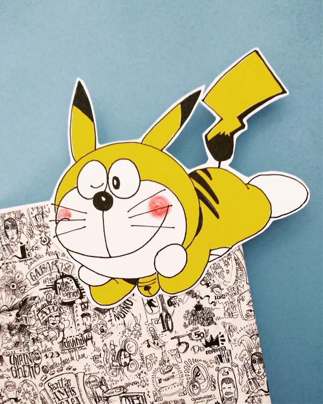 Pikaemón... #drawing #theprometeus #ink #transgressive #pokemon #doraemon