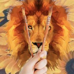 freetoedit lion ircpaintit paintit