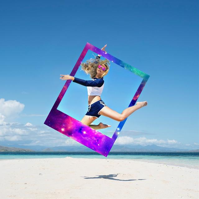 #freetoedit #polaroid #90s #picsart #picsart_tutorial #remix @picsart @freetoedit #people #girl #woman #beach #sea