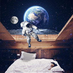 freetoedit sleeping bedroom bed sleepinggirl
