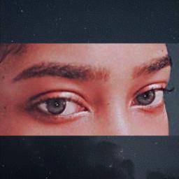 eyes sideeye yojeong freetoedit
