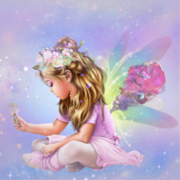 freetoedit angel fairy srcsmokyplanets smokyplanets