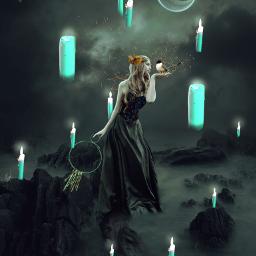 fantasy photomanipulation darkart