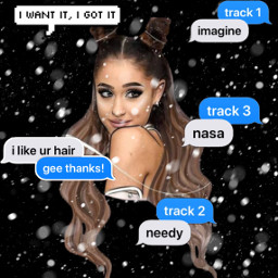 freetoedit arianagrande beutyfull eccallout callout