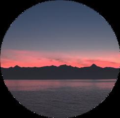 circle ocean sea twilgiht kółko freetoedit