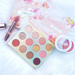 colourpop eyeshadows eyeshadowpalette photography flatlay