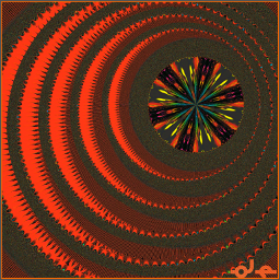 freetoedit art orange fractal abstract