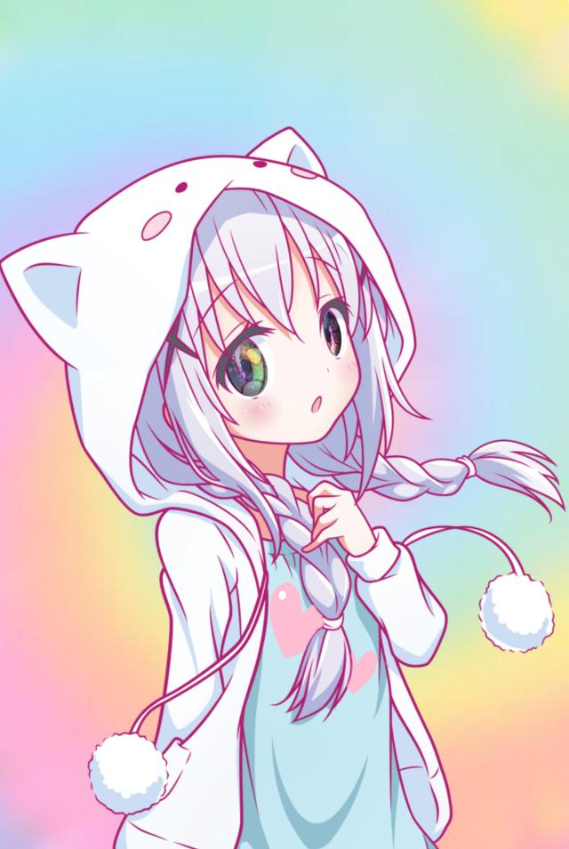 #freetoedit #pastel #anime #animegirl #love #unicorn #share #follow #color #fun