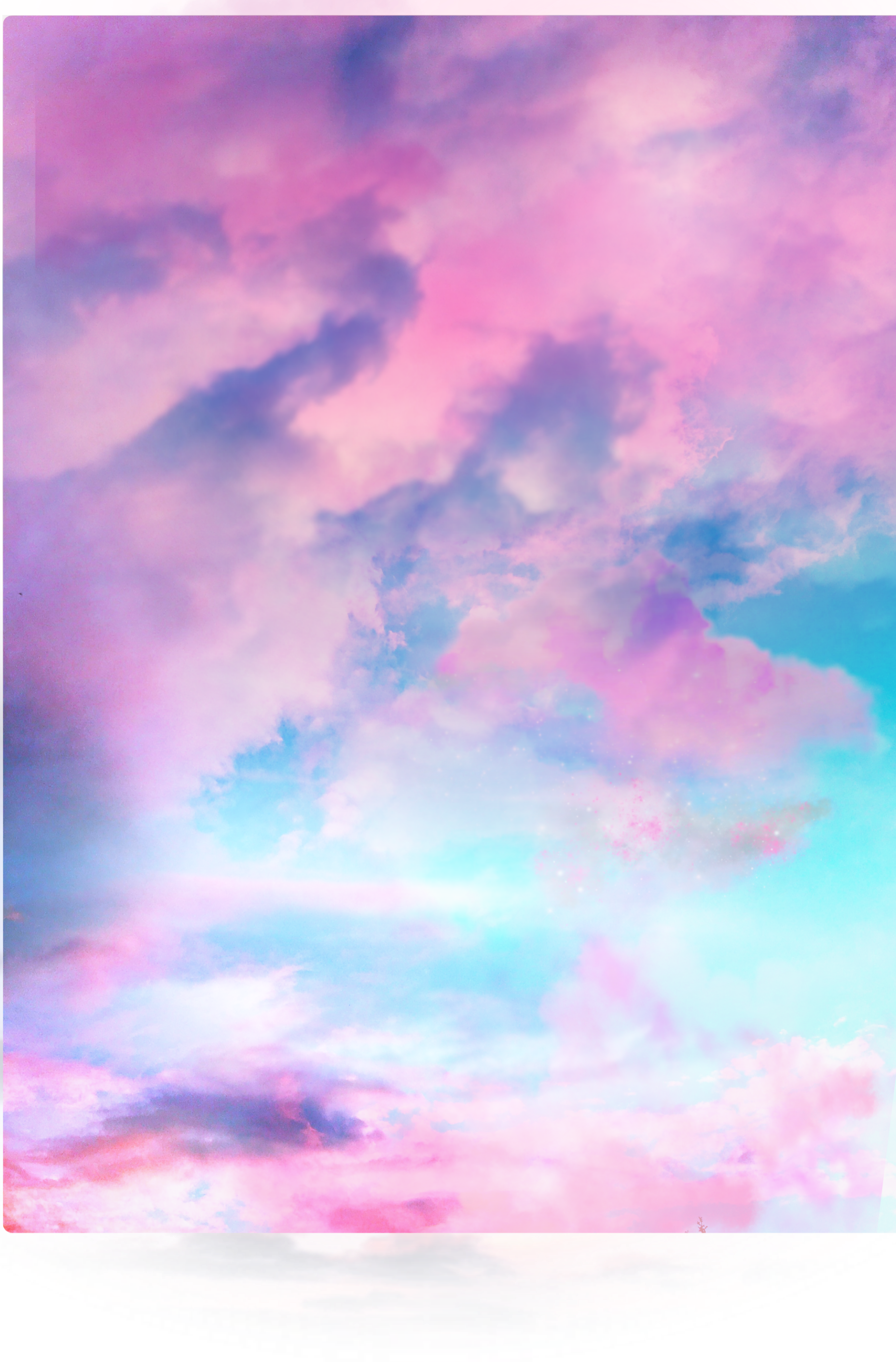 ftestickers sky clouds aesthetic colorful pastelcolors...