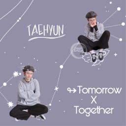 txt tomorrowxtogether tomorrow_x_together tomorrowbytogether txttaehyun freetoedit