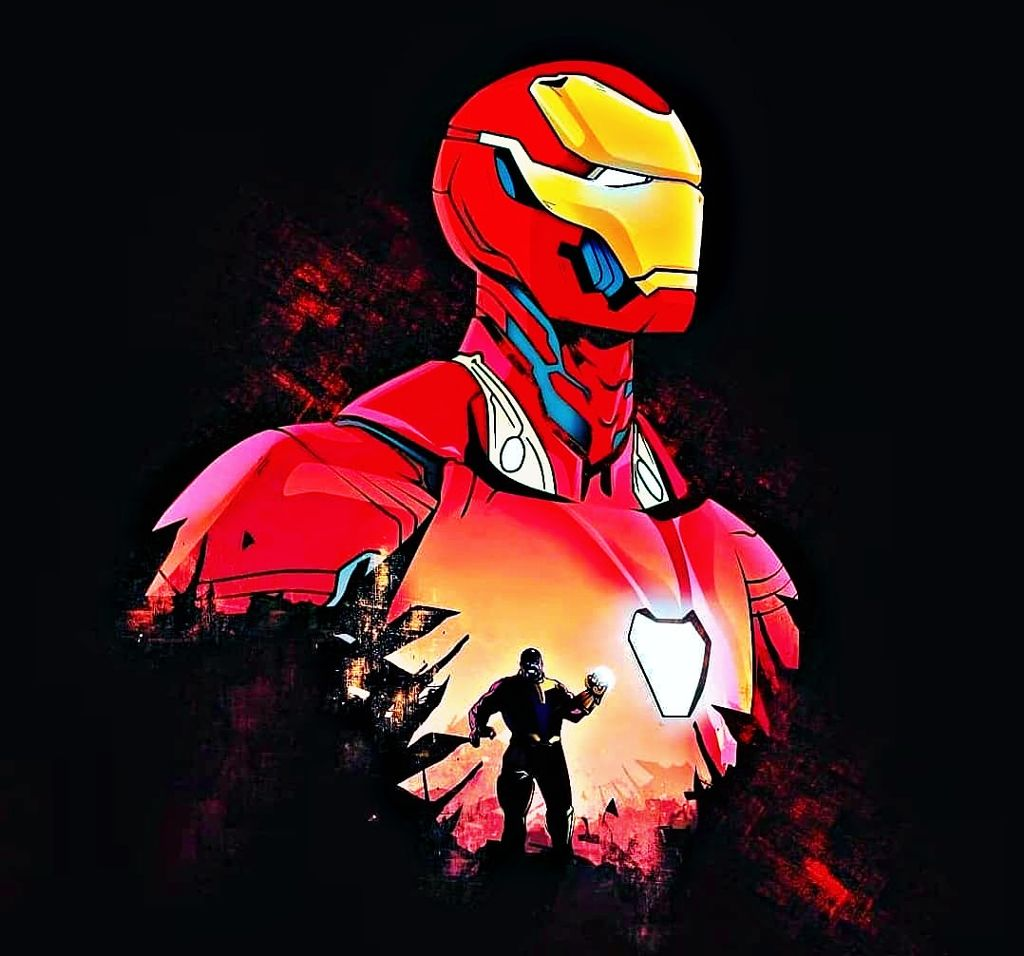 87 Gambar Iron Man Fan Art Terbaik