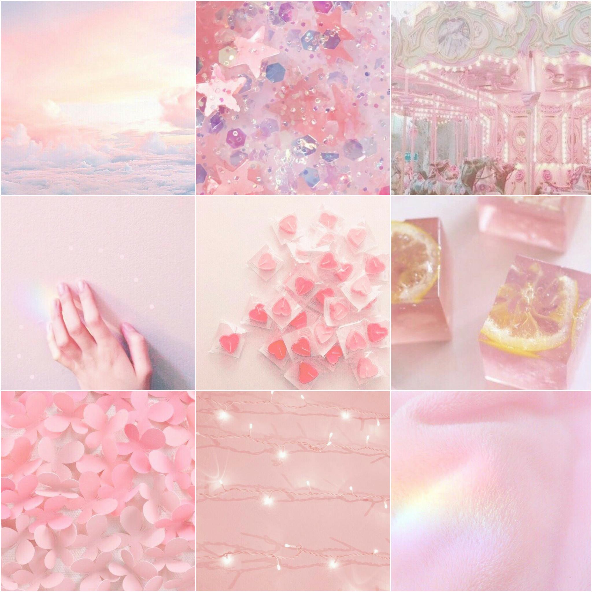 Розовые картинки тумблер коллаж
