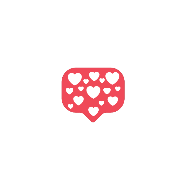 #love #react #chat #bubble