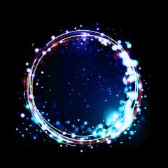 glow ring space freetoedit