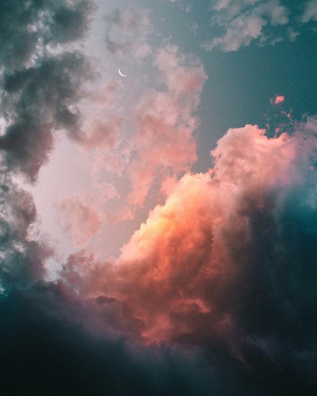 #freetoedit #cloud #unsplash #yellow #SKI #sunset #myphoto