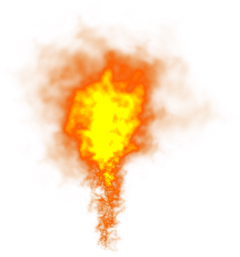 fire explosion orange lighteffect red freetoedit