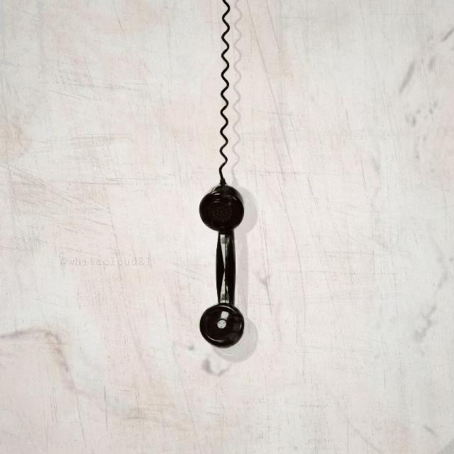 #freetoedit #telephone #black