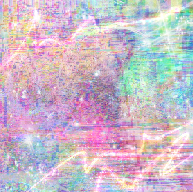 #glitch #galaxy #background #neonpastel #sherbert