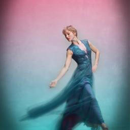 freetoedit woman dancer poparteffect gradientcolors