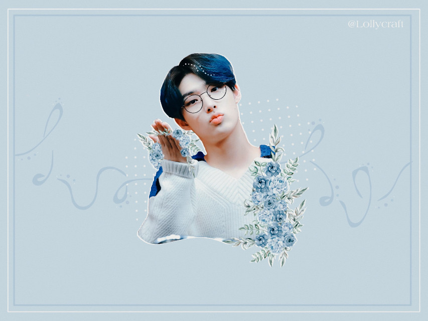 Mingi pastel style for @roses-are-rosie23 💙 ~whoa... I haven't done this style in so long.. It feels so simple😅  Hope you like it😉💙  #ateez #mingi #kpop #mingiateez #ateezmingi #blue #freetoedit