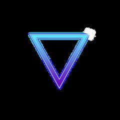 triangle astethic aesthetic freetoedit