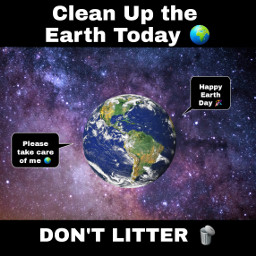 freetoedit earthday loveearth dontlitter cleanup day