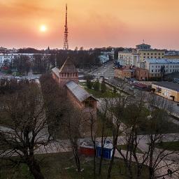 freetoedit town sunset