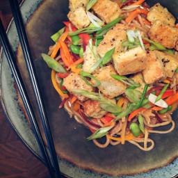 vegetarian noodles plantbased bowlfood dinner