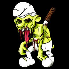 cartoon horrors horror horrorart schlumpf fte ftestickers freetoedit