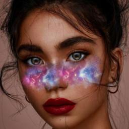 freetoedit ecgalaxymakeup galaxymakeup