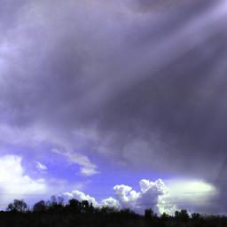 storm afterstorm myphoto reflex sun