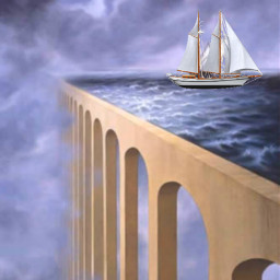 freetoedit fantasyart surreal surrealistgate boat
