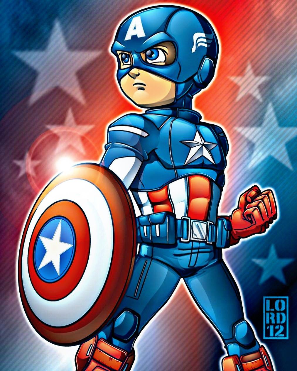 Captain America Fan Art! By Lordmesa-art Follow In Inst