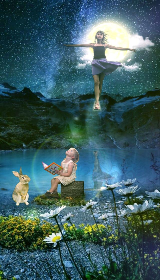 #freetoedit #fantasy #picsarteffects #lensflare #curvetool
