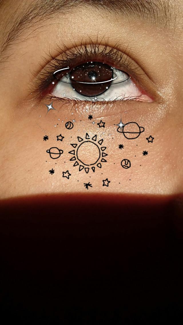 #freetoedit #Galaxy #olhos