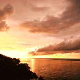 sunset freetoedit ocean naturephotography