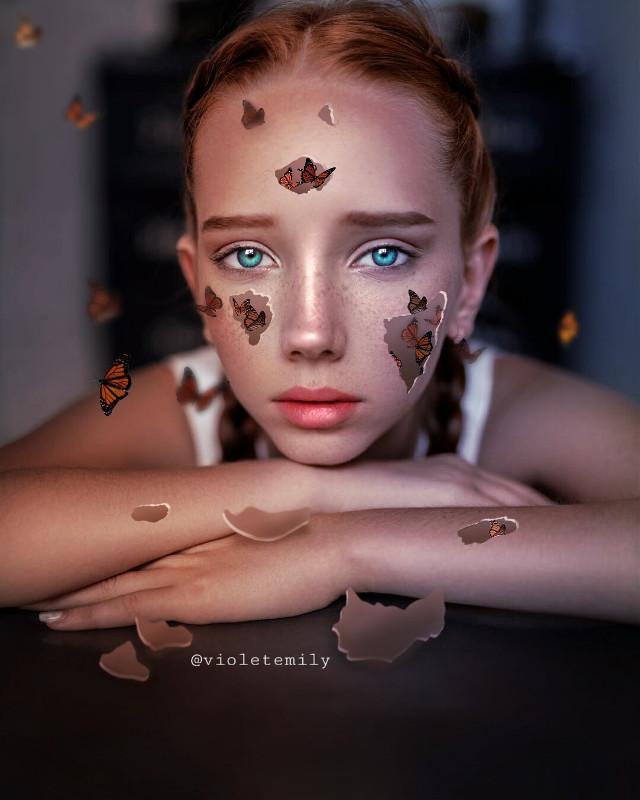 #freetoedit  #butterflies #myedit