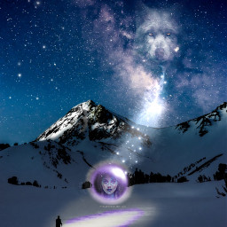 freetoedit spiritanimal mystic