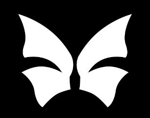 bruch papillon freeedit blackandwhite animaleye freetoedit
