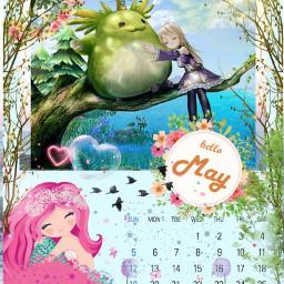 freetoedit glitterbrush mai2019 kalender2019