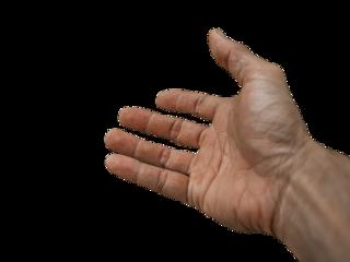 mão amiga ajuda freetoedit