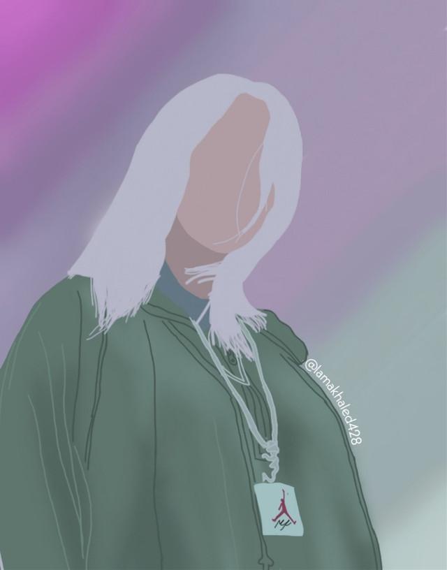 #ircbillieeilishfanart @picsart  #freetoedit #remixit #billieeilish #art #fanart #myart #billie #artist #lines #colors #face #girl #hair #basketball #digitalart #digital #mydrawing #draw #hopeyoulikeit 💕❤️