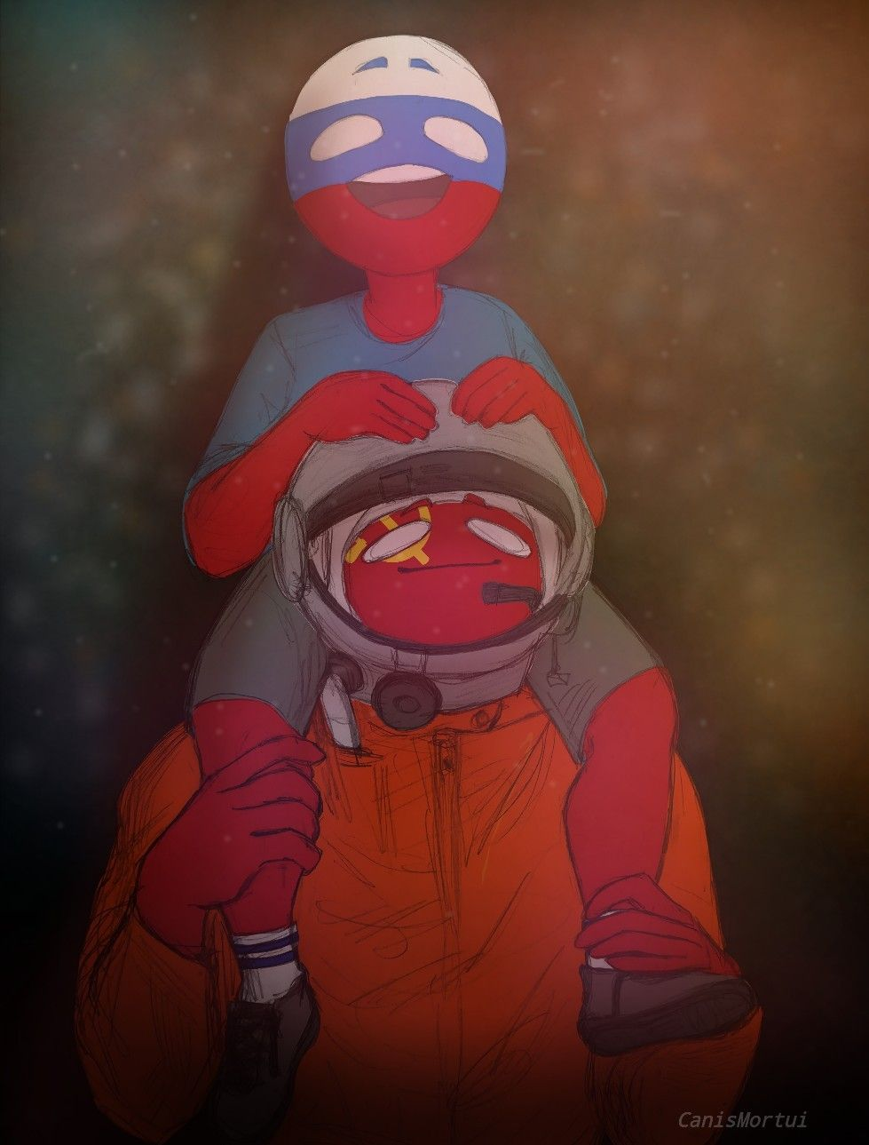 countryhumans russia USSR
