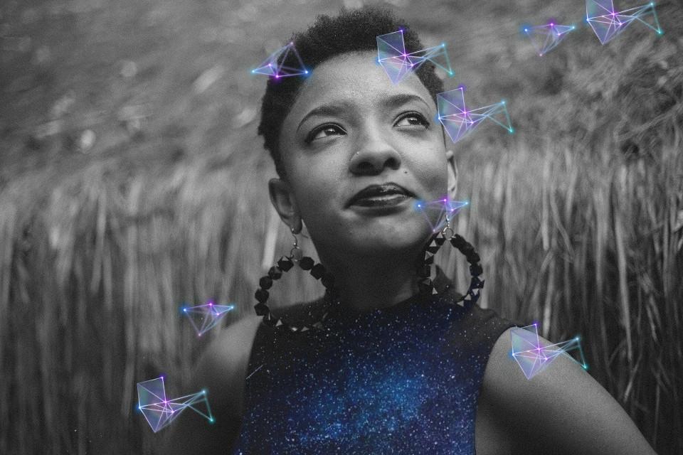 #freetoedit #geometricbrush #galactic #girl #bnw #photooftheday @pa