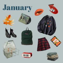 moodboard nichememe winter january