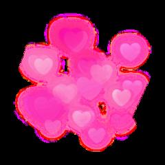 hearts heart png pink tumblr freetoedit