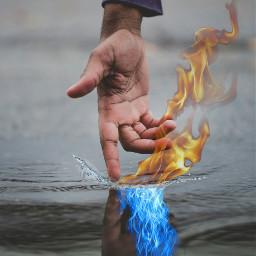 freetoedit shapeup water waterdrop fire