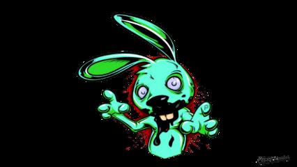 cartoon rabbit blood creepy picsartpassion_de fte ftestickers freetoedit
