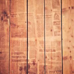 floor wood old newspaper