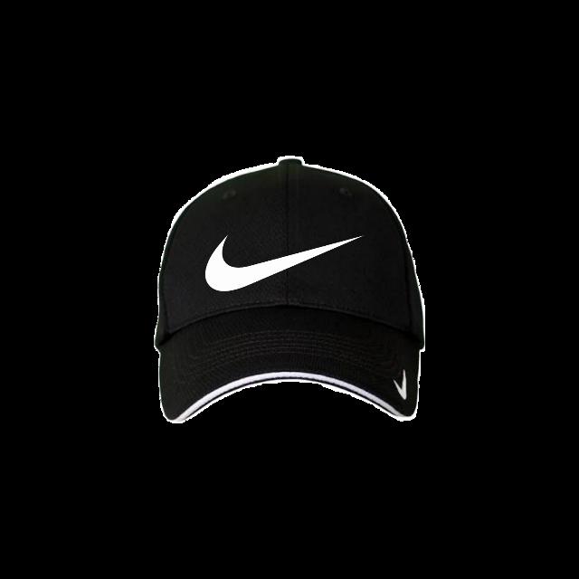 #nike #cap #hat #nikes #sticker #black